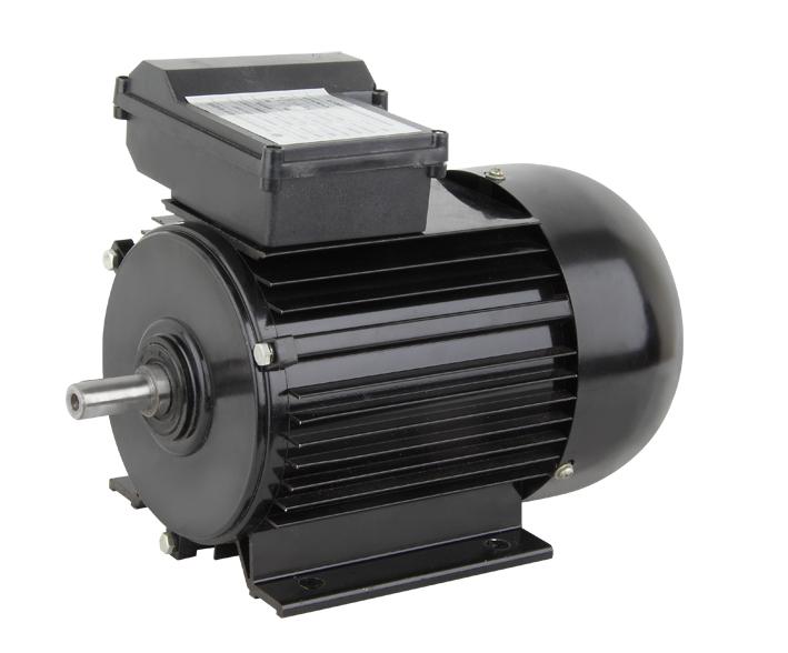 YY系列单相电容运转电动机.,具有性能良好,操作可靠、安全,外表美观,维修方便,噪声小,微振动,重量轻,结构简单等一系列优点.   此系列电动机可用于家庭设备(洗衣机,风机,水泵),电动工具(手拿钻头),风机,水泵等所有负载轻,无起动负载的设备。